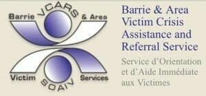 Logo for the Barrie & Area Victim Crisis Assistance and Referral Service