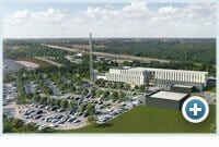 Rendering of the Barrie-Simcoe Emergency Services Campus
