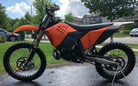 Dirt Bike Stolen
