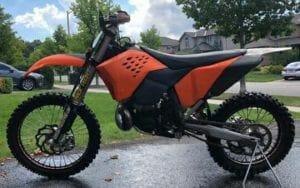 BA19033799 - Image of stolen dirt bike