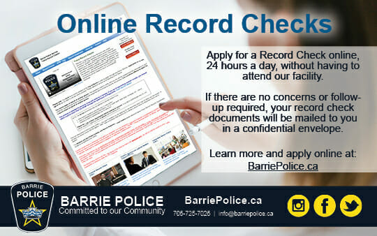 Web Graphic - Record Checks