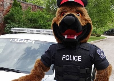 Blue - Barrie Police Mascot