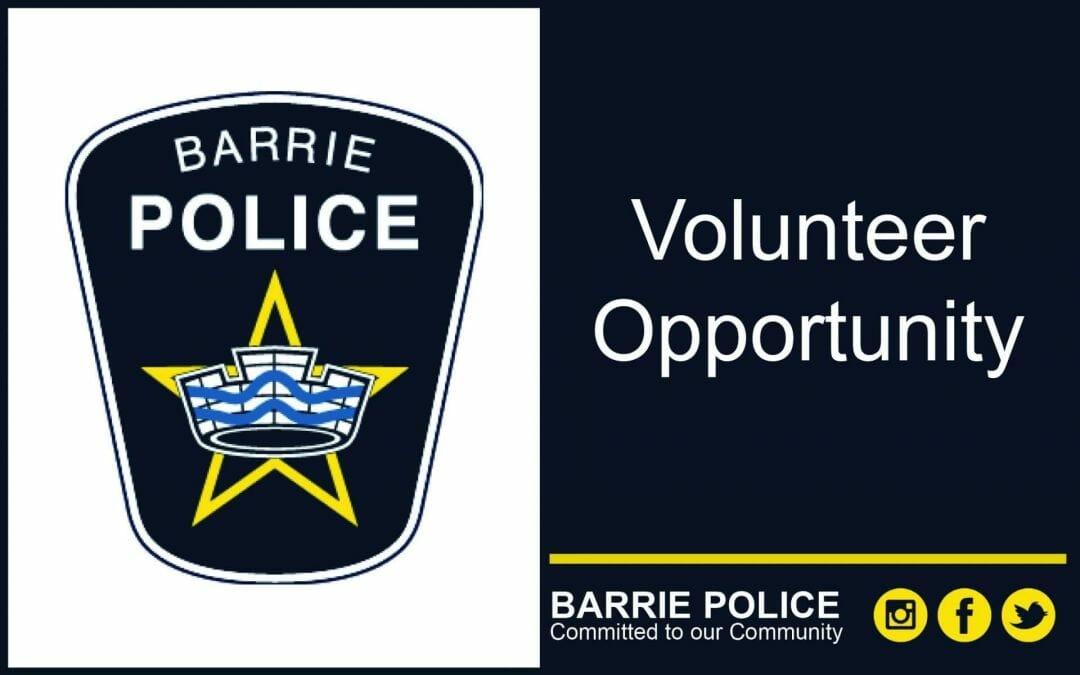 Volunteer Opportunity – Citizens on Patrol (COP)