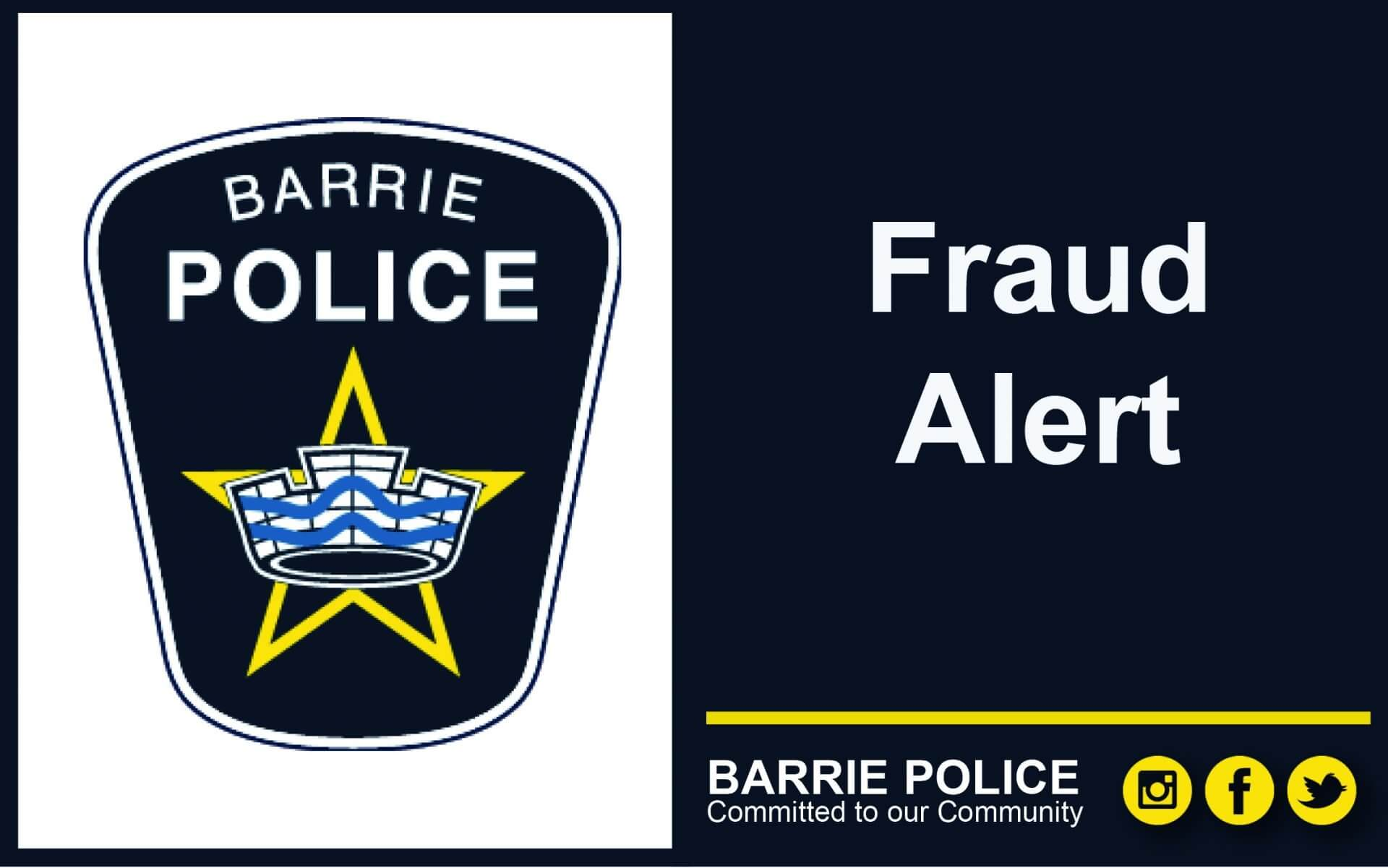 Don T Fall For Fraud Recognize Reject And Report Fraud Barrie Police