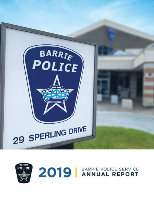 2019 Barrie Police Service Annual Report now available