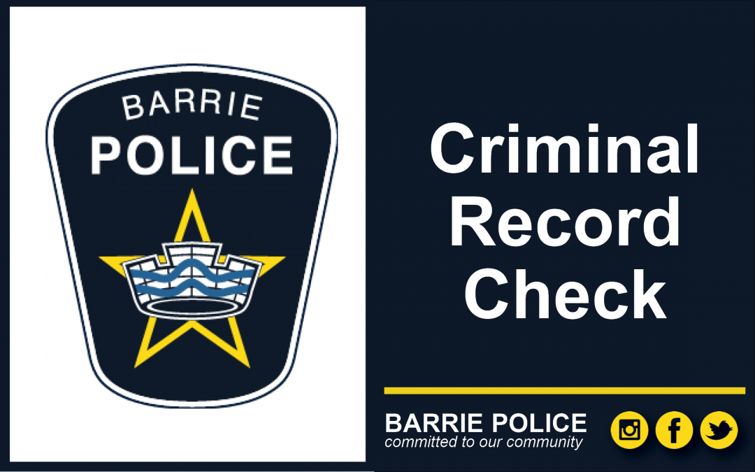 Criminal Record Check process improved