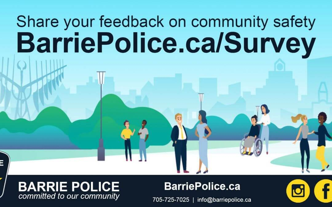 Barrie Police Service looking for feedback in Community Safety Survey