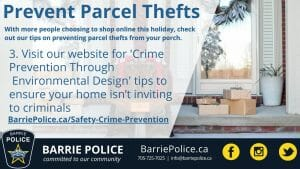 Prevent Parcel Thefts Tip 3: Crime Prevention Through Environmental Design tips on our website